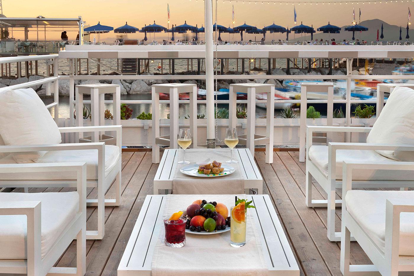 Restaurant On The Sea At Marina Grande Sorrento Sorrento